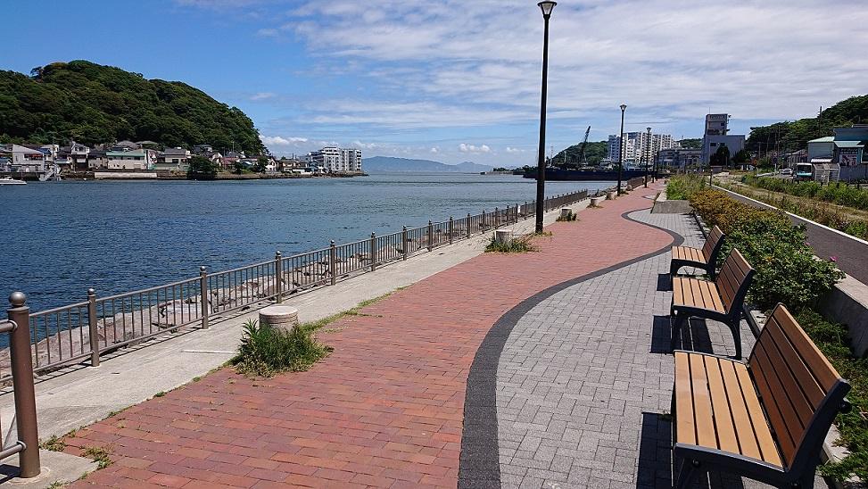 西浦賀みなと緑地【陸軍桟橋】